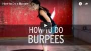 free burpee exercise video