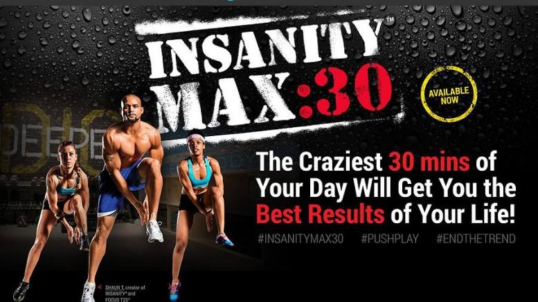 insanity max 30 free