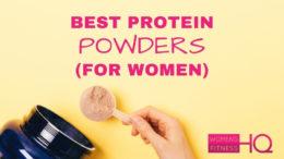 best protein powders for women