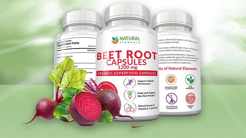 natural elements beet root capsules
